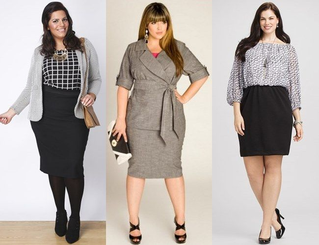 Piniful Plus Size Office Wear 03