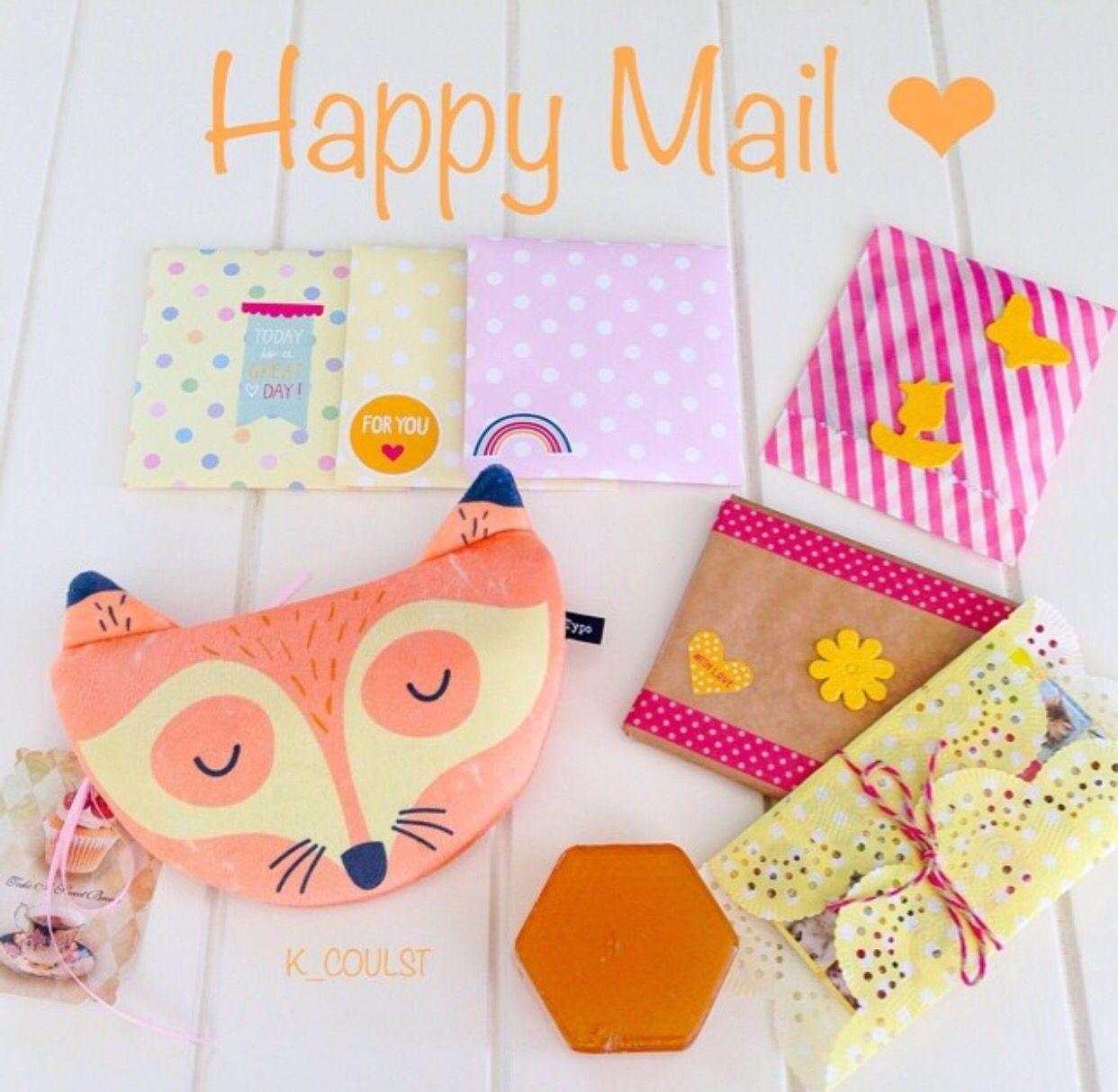 Snail Mail Happy Send More Stationery Pen Pal Handmade Art Craft