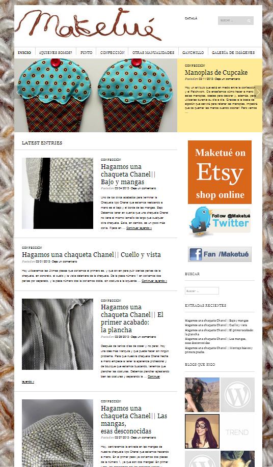 Tema The Sight ideal para Blog de Moda | Plantillas WordPress ...