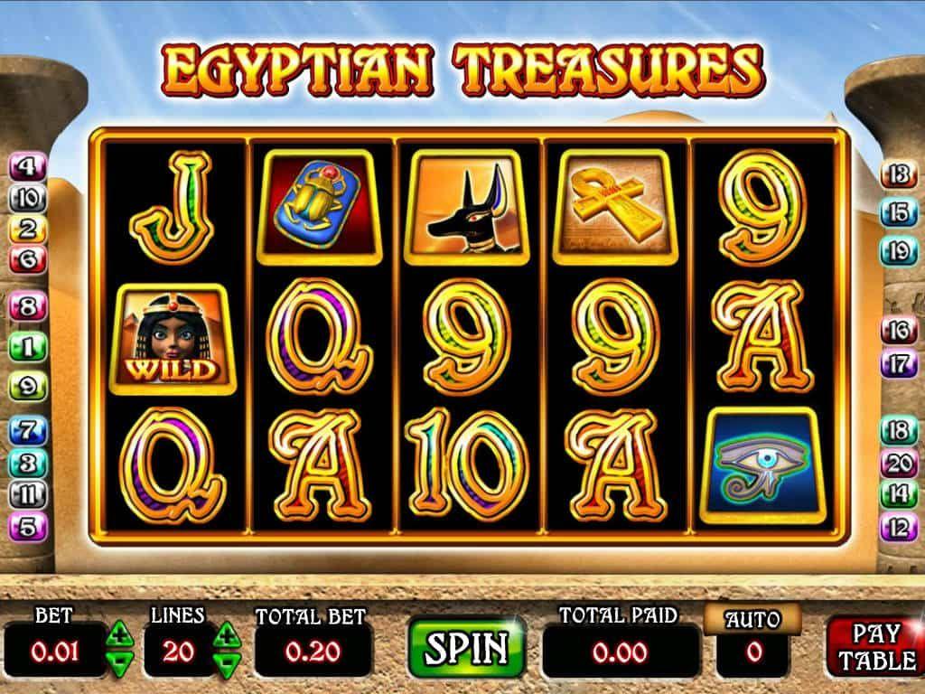 Slot Machine Egyptian Gratis