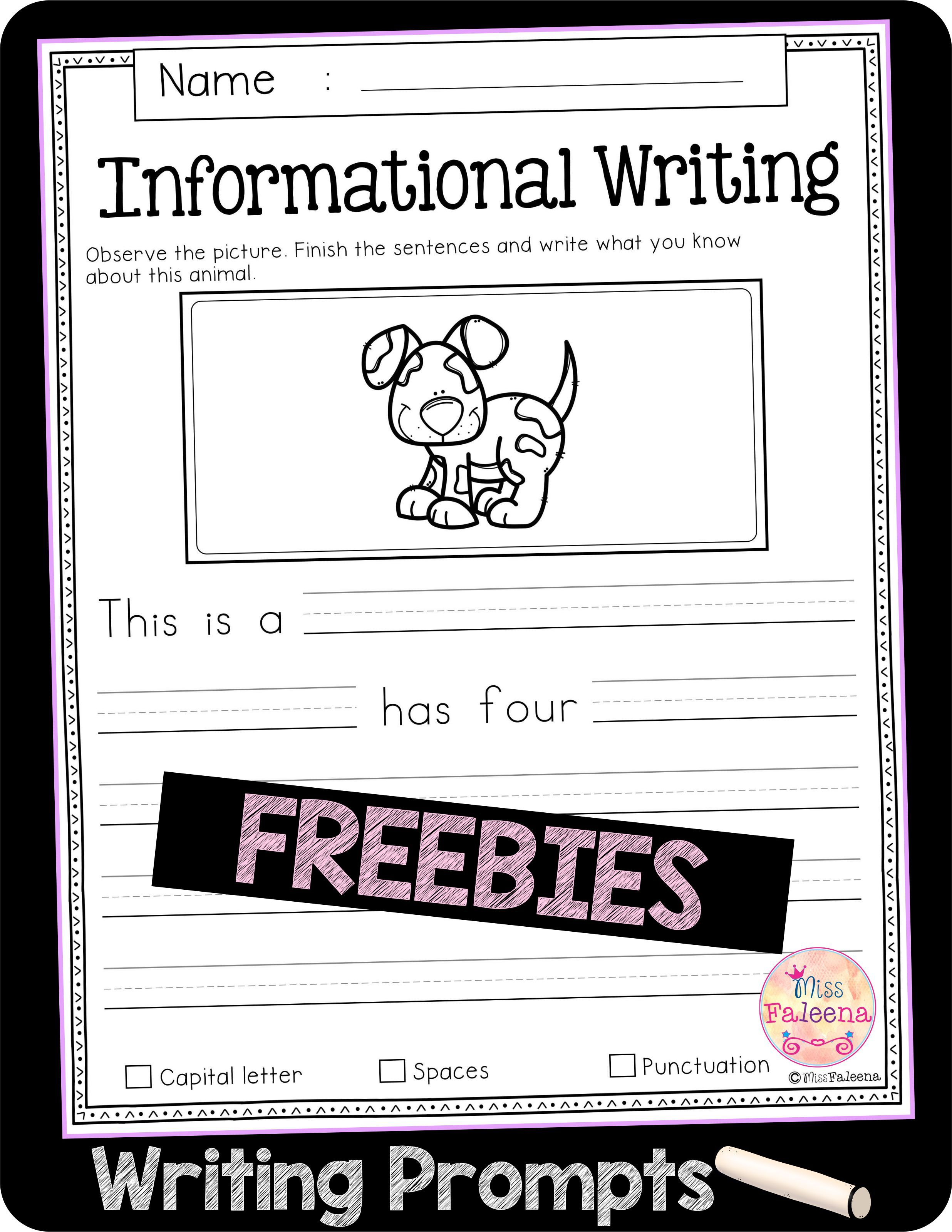 Free Writing Prompts Di