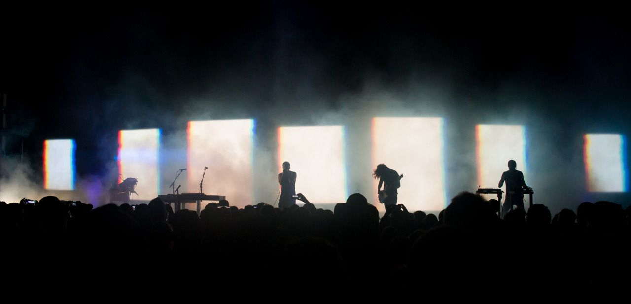 Nine Inch Nails live at Jones Beach Theater in New York, August 1st ...