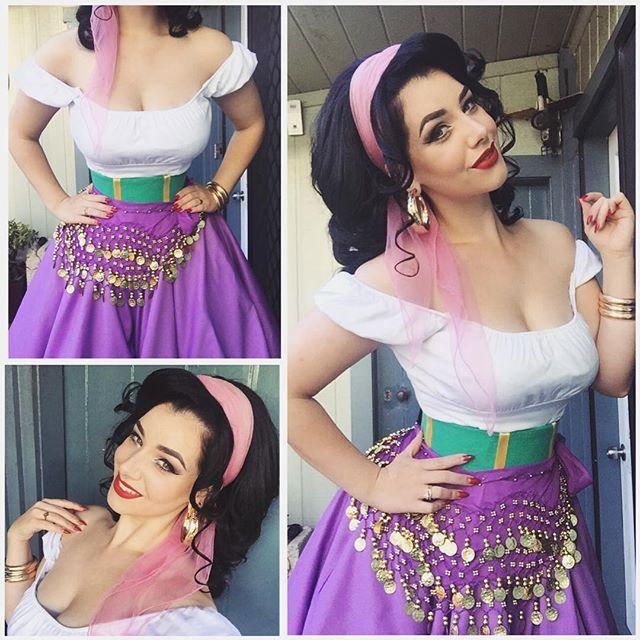 Costume Halloween Esmeralda.Sigueme No Te Cuesta Nada Diy Halloween Costumes Disney
