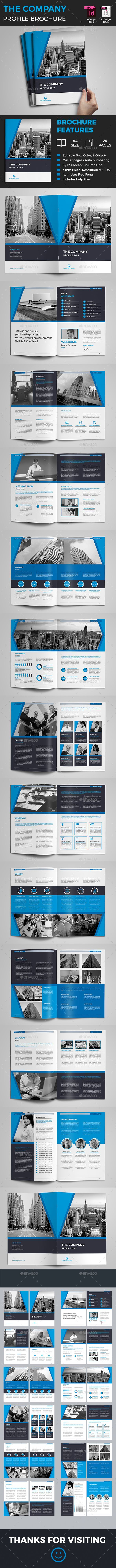 Company Profile | Company profile, Brochures and Corporate brochure