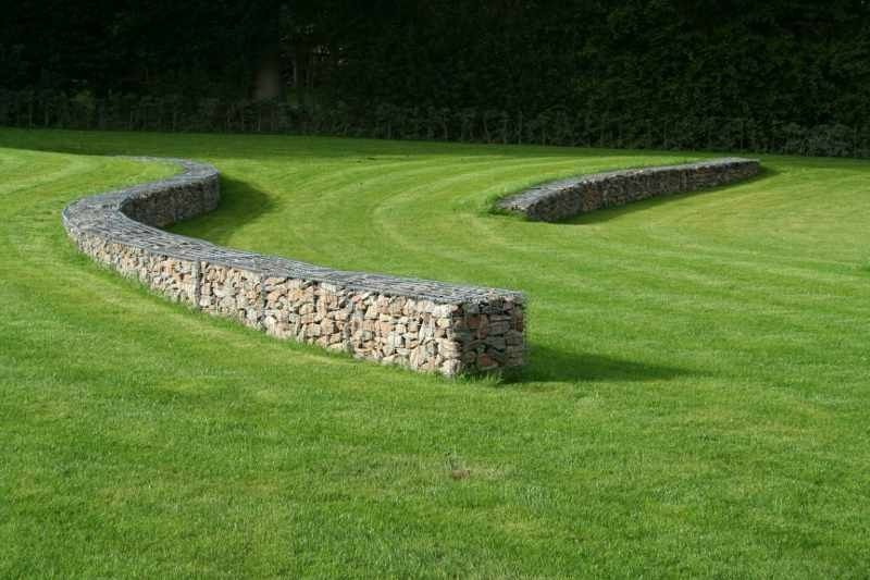 Lawn and Gabion
