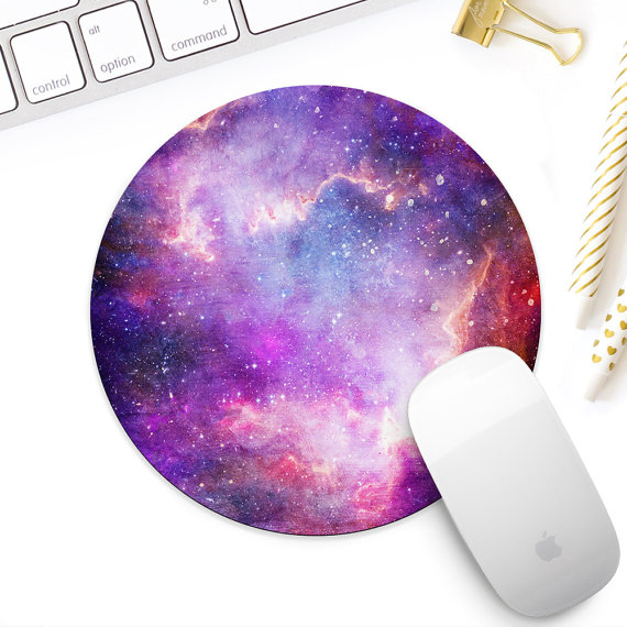 3d1a95331ade Colorful galaxy mouse pad