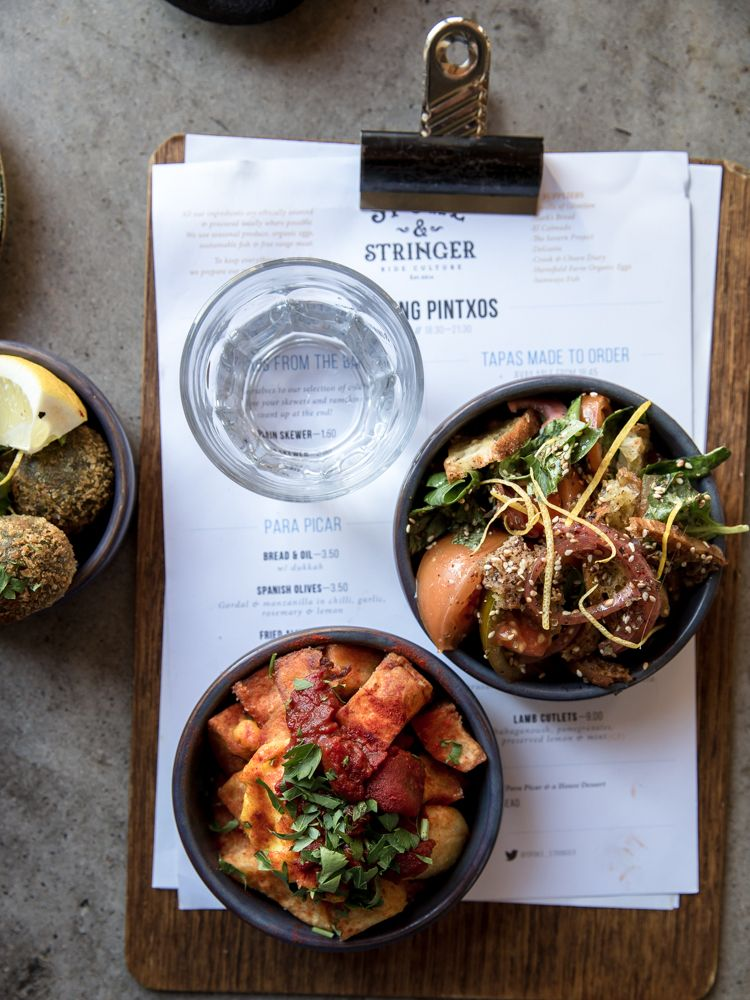 I Dropped By Spoke  Stringer To Sample Their New Tapas Menu ItS