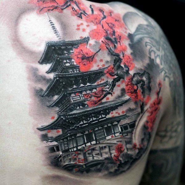 100 Cherry Blossom Tattoo Designs For Men