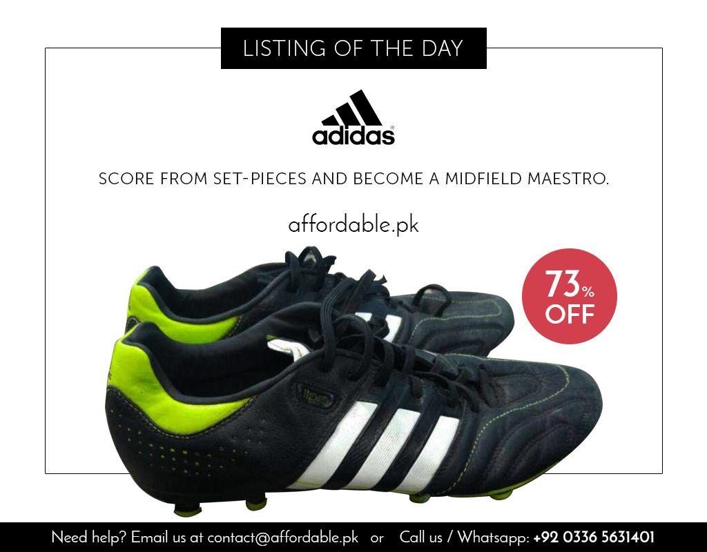 Buy adidas 11core football shoes in pakistan football