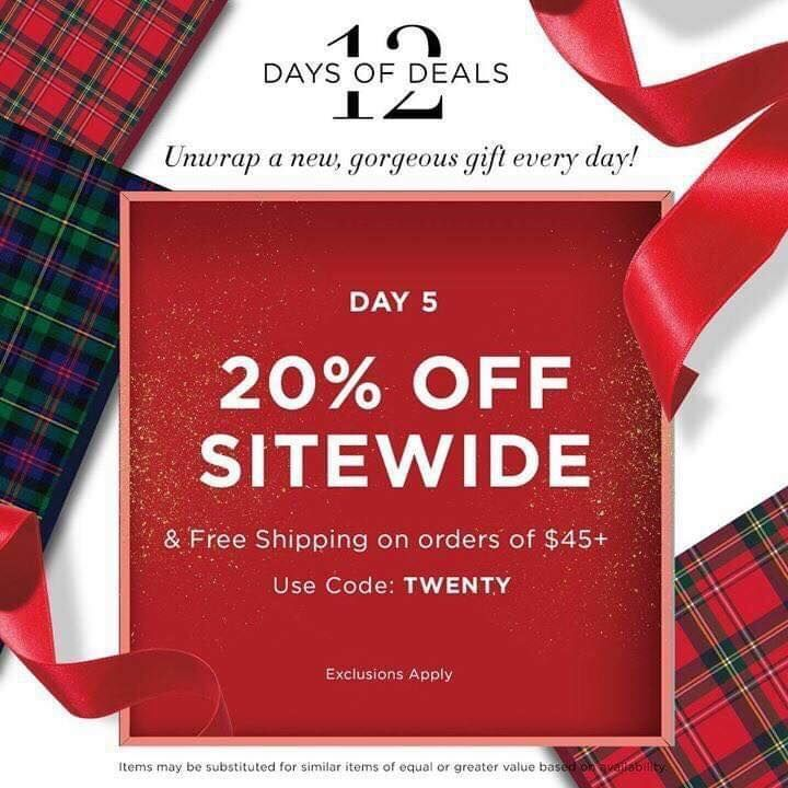 Are you ready for Day 5? Your Day 5 deal Get 20 off