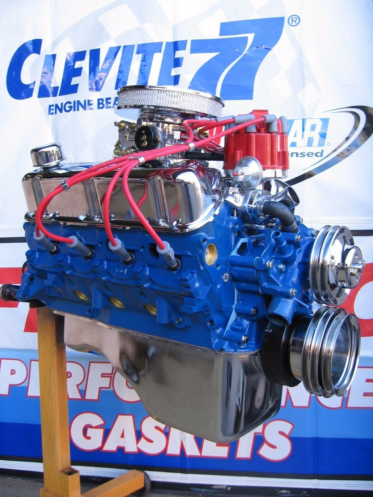 Bb 57 Engine Room: Crate Engines, Mustang Truck