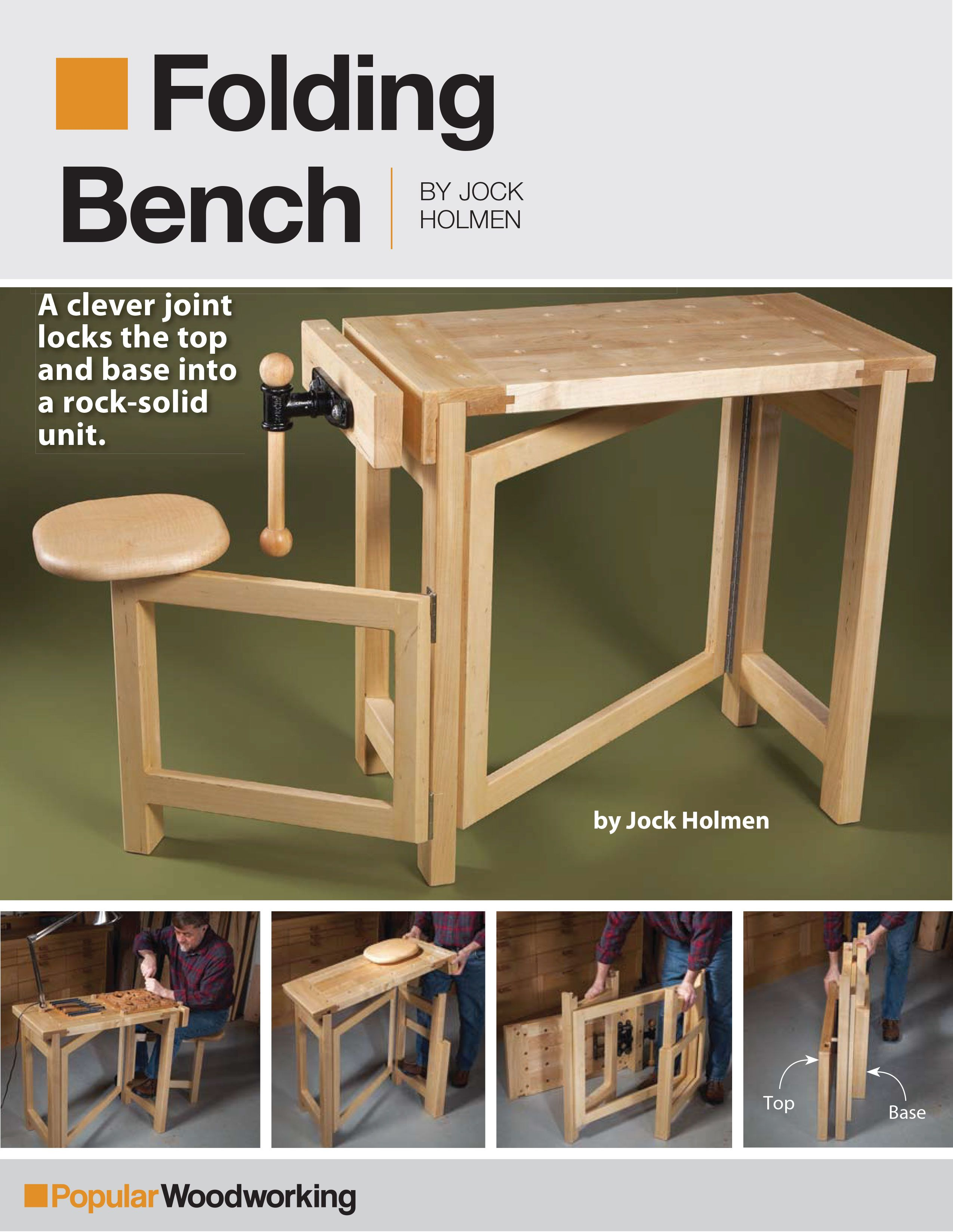 Folding Bench Project Download in 2020 | Popular ...