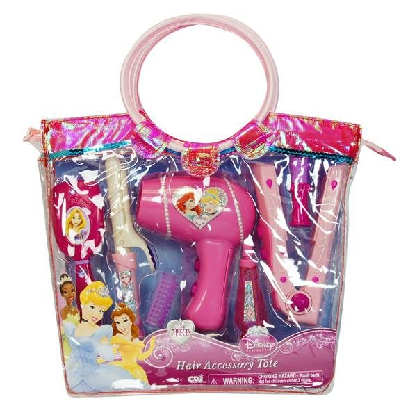 Disney Princess Hair Styling Tote From Blain S Farm And Fleet Disney Princess Hairstyles Baby Doll Accessories Pretend Play Toys