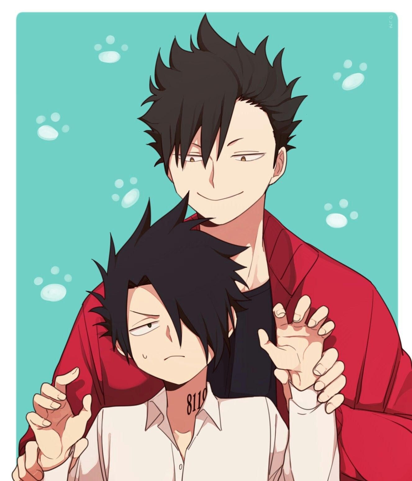 Ray and Kuroo are long lost brothers 😆 | The Promised