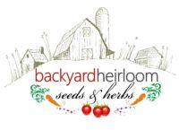 Logo Backyard Heirloom Seeds & Herbs