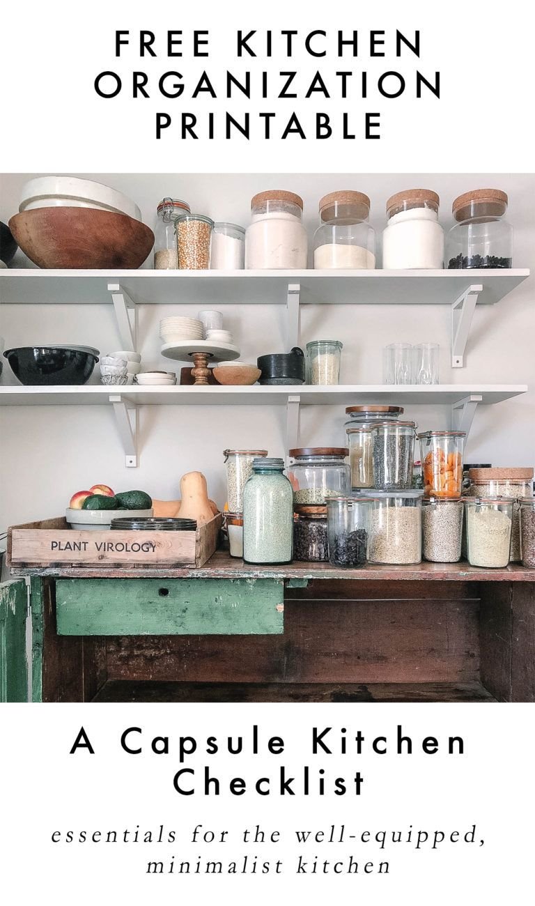 pantry essentials and how to organize your pantry a daily something capsule kitchen on outdoor kitchen essentials id=72537