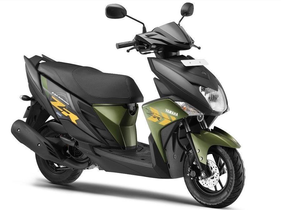 Yamaha Cygnus Ray Zr Scooter Launched At Inr 52 000 Yamaha Motor
