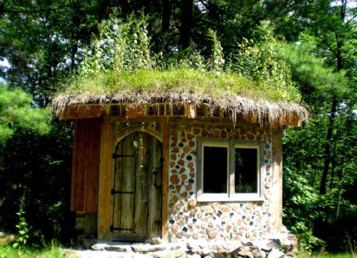 cordwood playhouse architektur pinterest haus gartenlaube und gartenhaus. Black Bedroom Furniture Sets. Home Design Ideas
