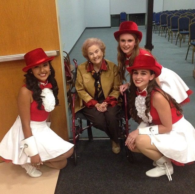 Strutters With The Original Founder Barbara Tidwell Dance Teams Barbara The Originals