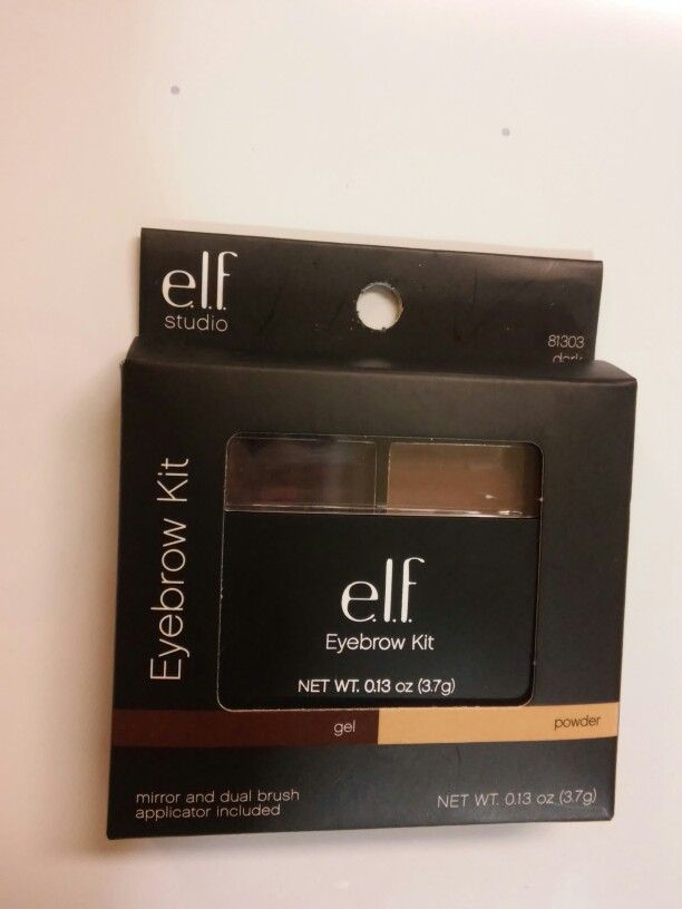 One of my absolute favorites from e.l.f. ! The e.l.f. eyebrow kit is only $3 and comes with a double sided brush for perfect application! Most definitely worth the money. You can find them at all Walmarts or drug stores! #elfcosmetics