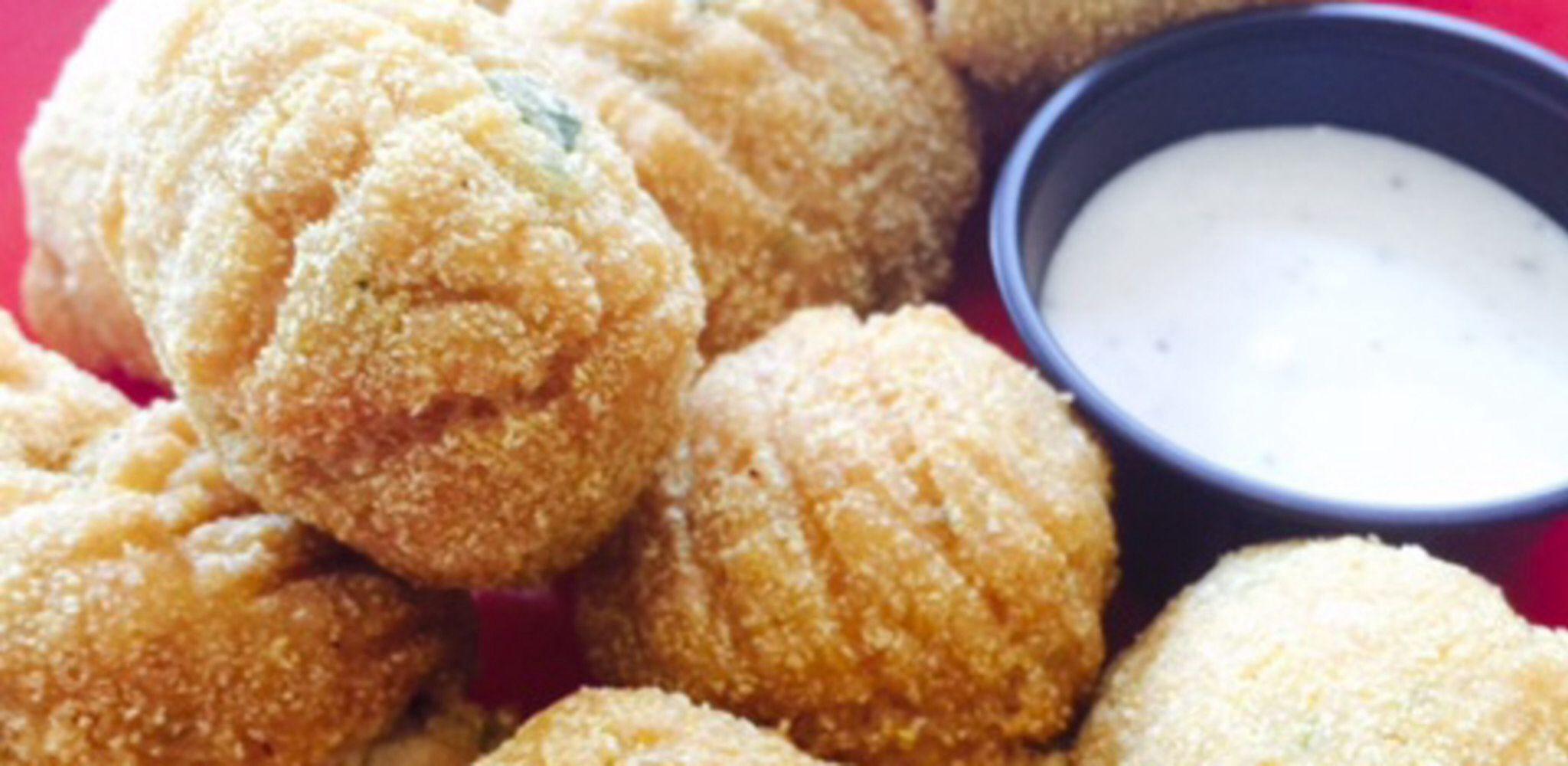 GlutenFree Vegan Creole Jalapeno Hush Puppies Recipe
