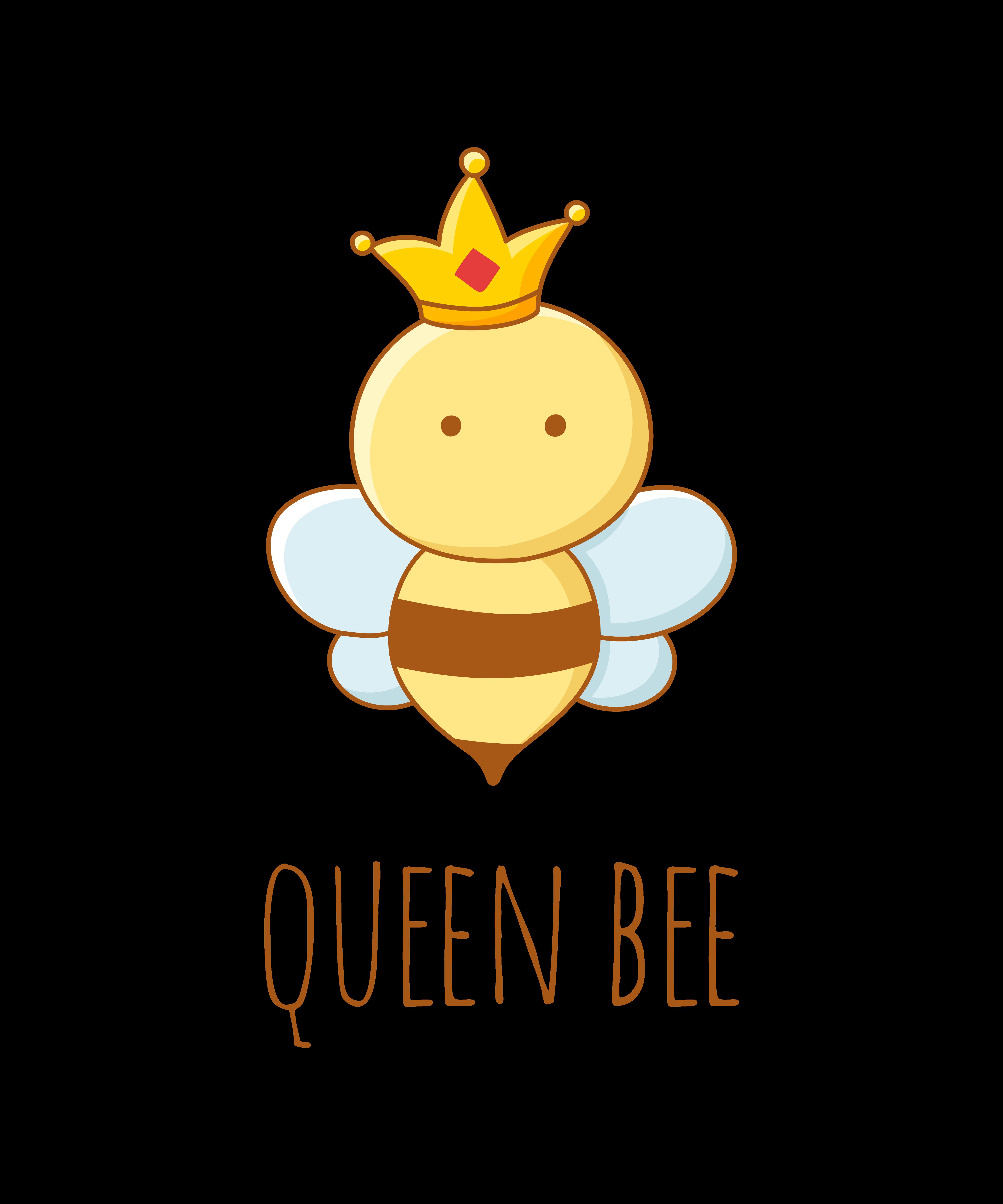 Queen Bee Funny Doodles Cute Puns Cute Cartoon Drawings