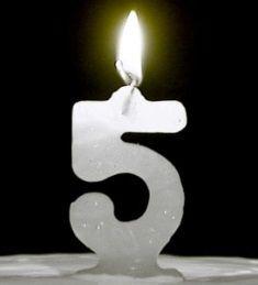 Hoy, 5 de noviembre, celebramos nuestro quinto aniversario. ¡Gracias a todos!