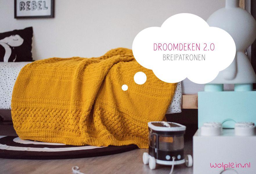 Droomdeken 20 Kal 2018 Breipatronen Knitting Crochet Things To