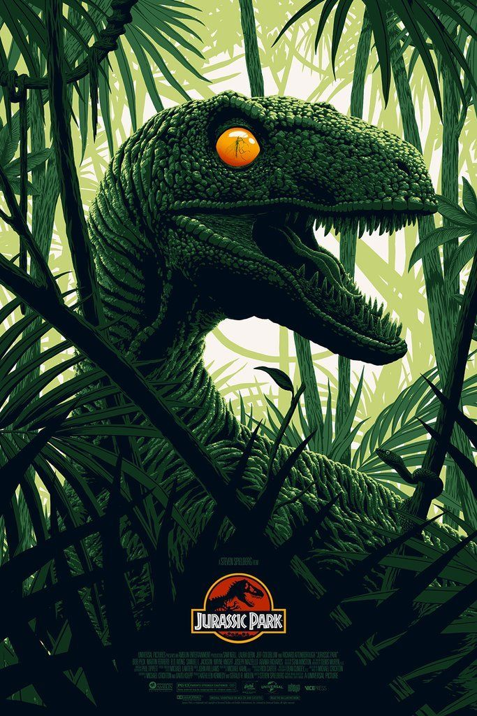 Jurassic Park - Created by FloreyLimited edition prints available for sale at Vice Press and Bottleneck Gallery. #jurassicparkworld