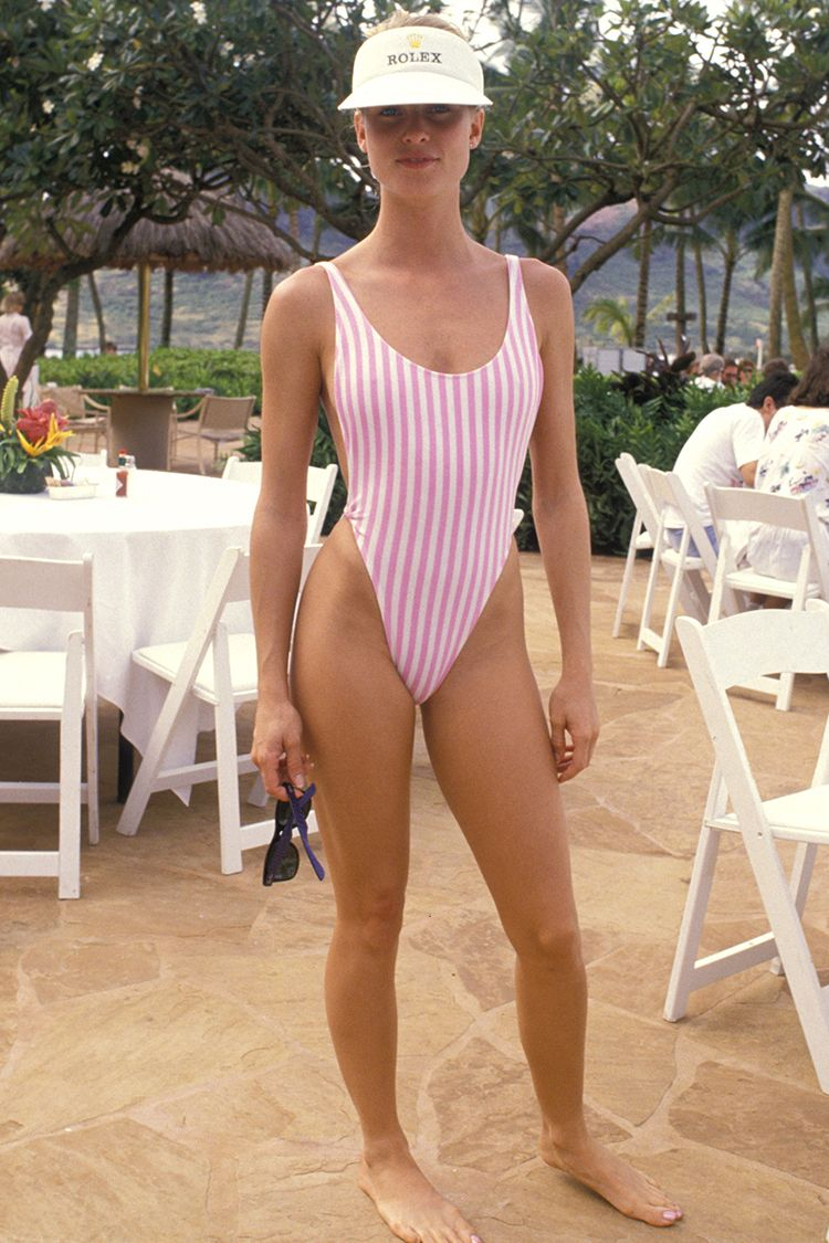 Style Icon: Nicolette Sheridan in the 1980s