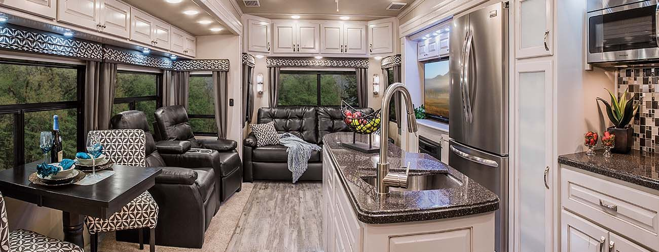 Luxe Full Time Fifth Wheel Luxury Fifth Wheel Rvs Augusta Rv