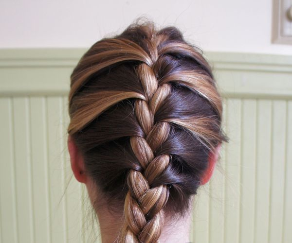 Franz    sisch Braid Frisuren