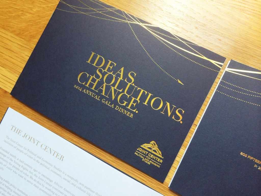 Gorgeous Gala Invitation  Pomp Corporate Event Design  Corporate