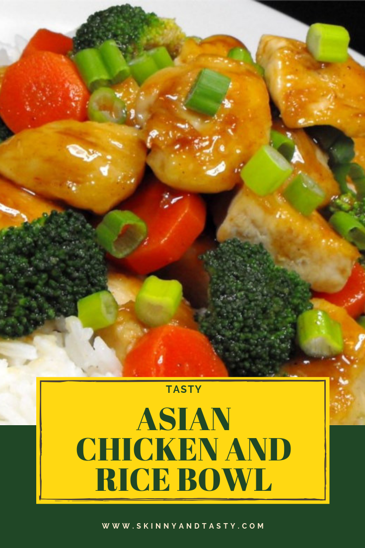 tasty asian chicken and rice bowl recipe asian chicken tasty rice bowls pinterest