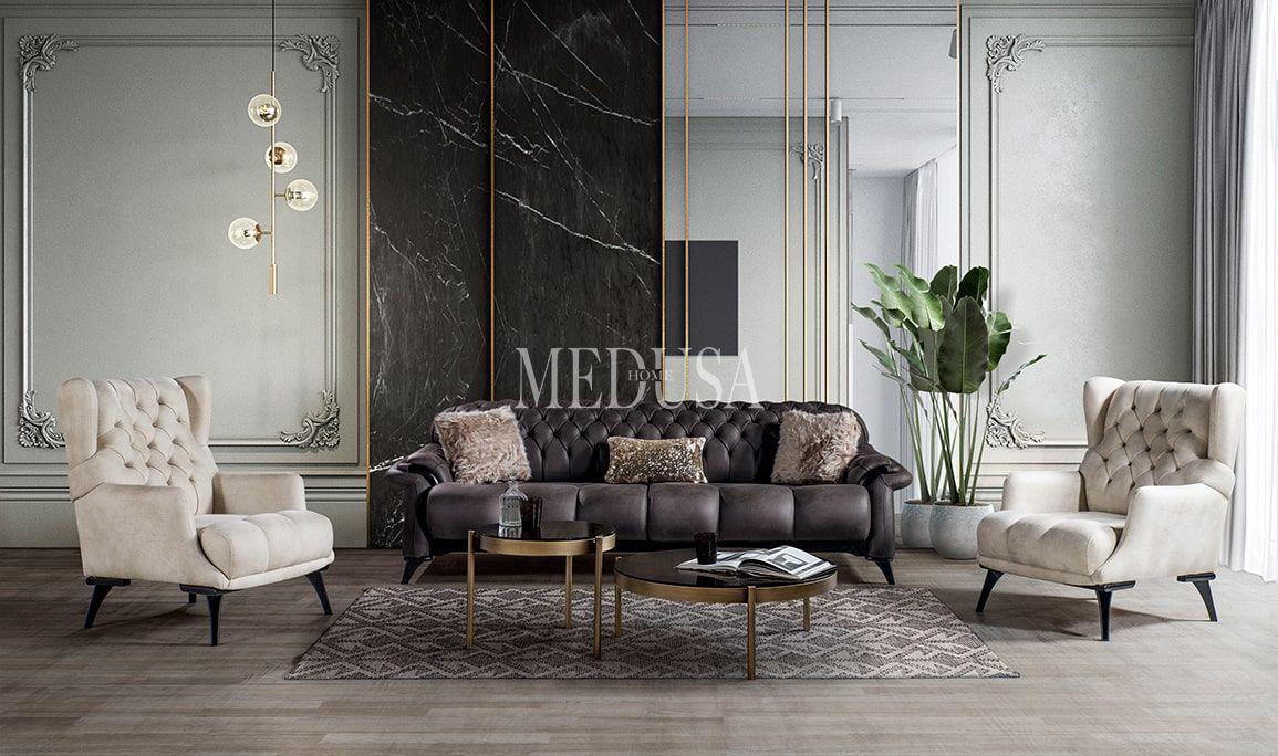 Lara Koltuk Takimi Two Medusa Home 2020 Ev Dekoru Koltuklar Ve Oturma Odasi Fikirleri