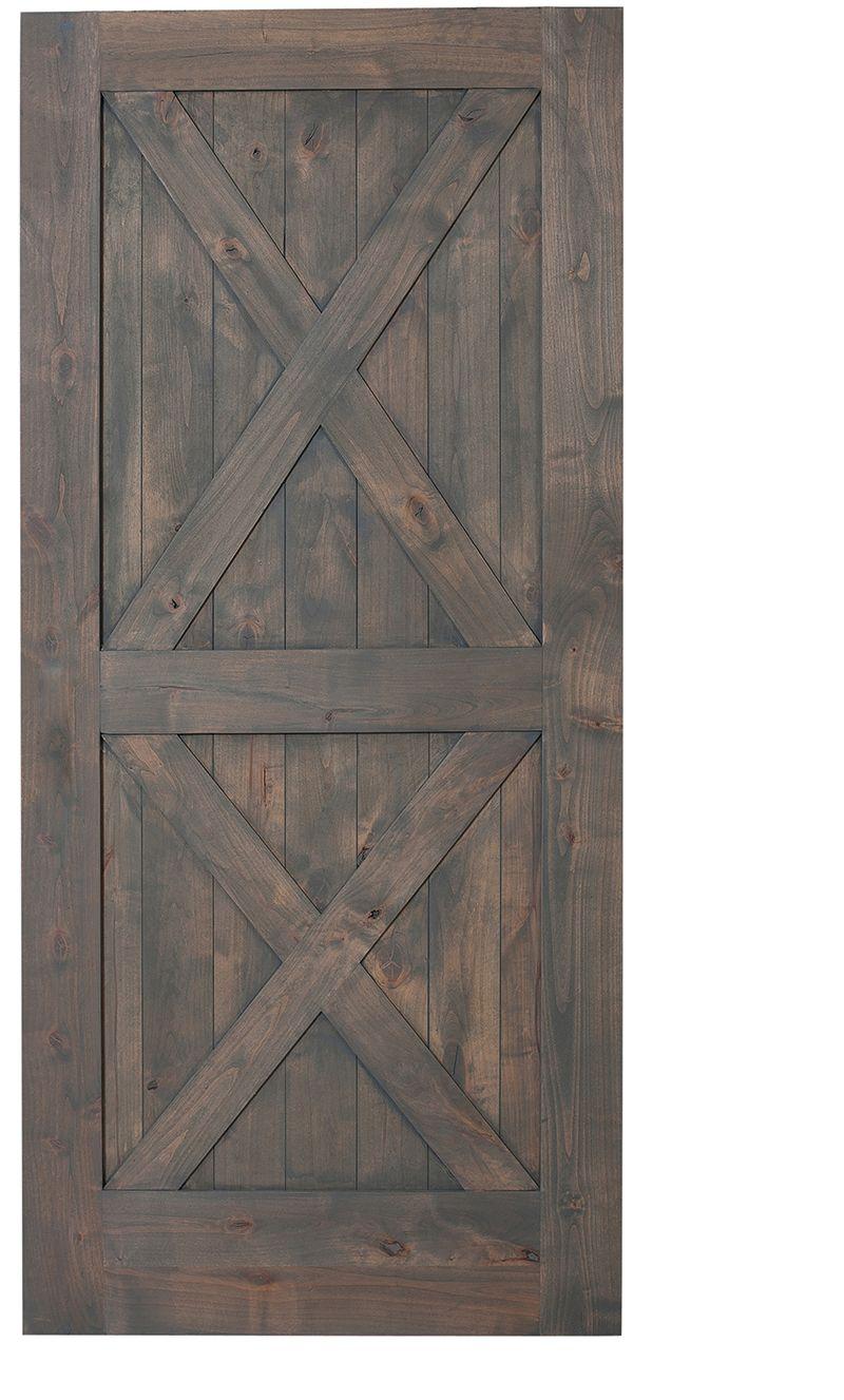Double X Barn Door Single Hinged Barn Doors Rustica Hardware