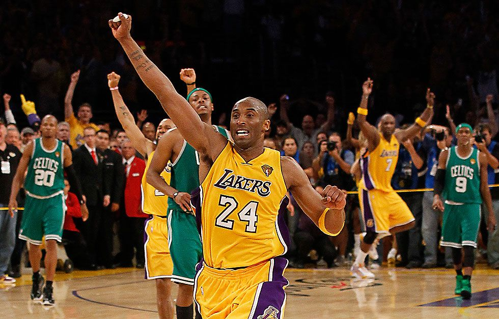 Lakers celebration Nba finals history, Kobe bryant, Lakers