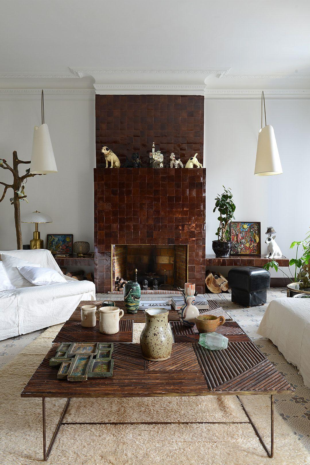 Photo of Annick Lestrohan's Marseille Home is Peak Mediterranean Vibes