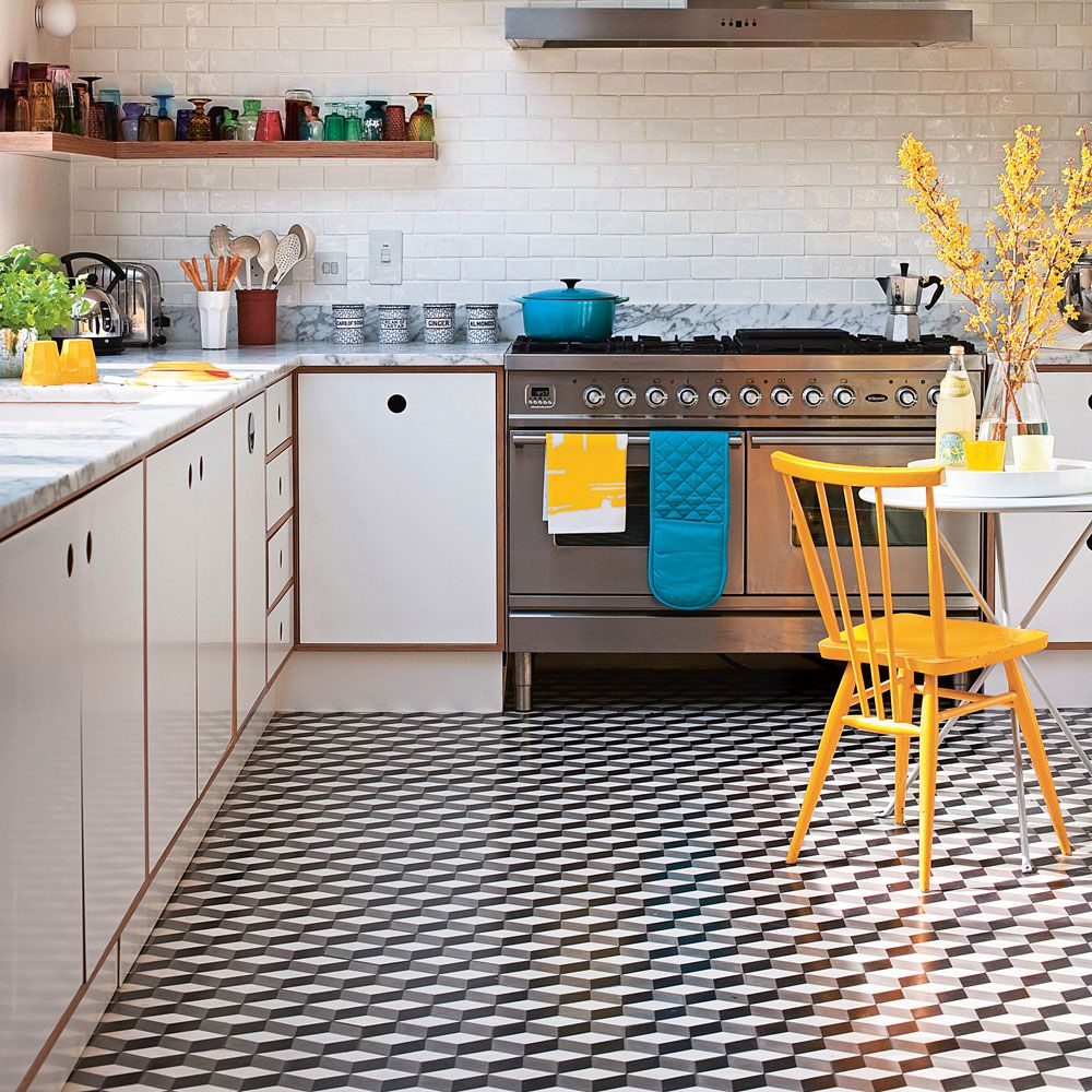 32+ Funky Covering Tiles Ideas Kitchen flooring, Best