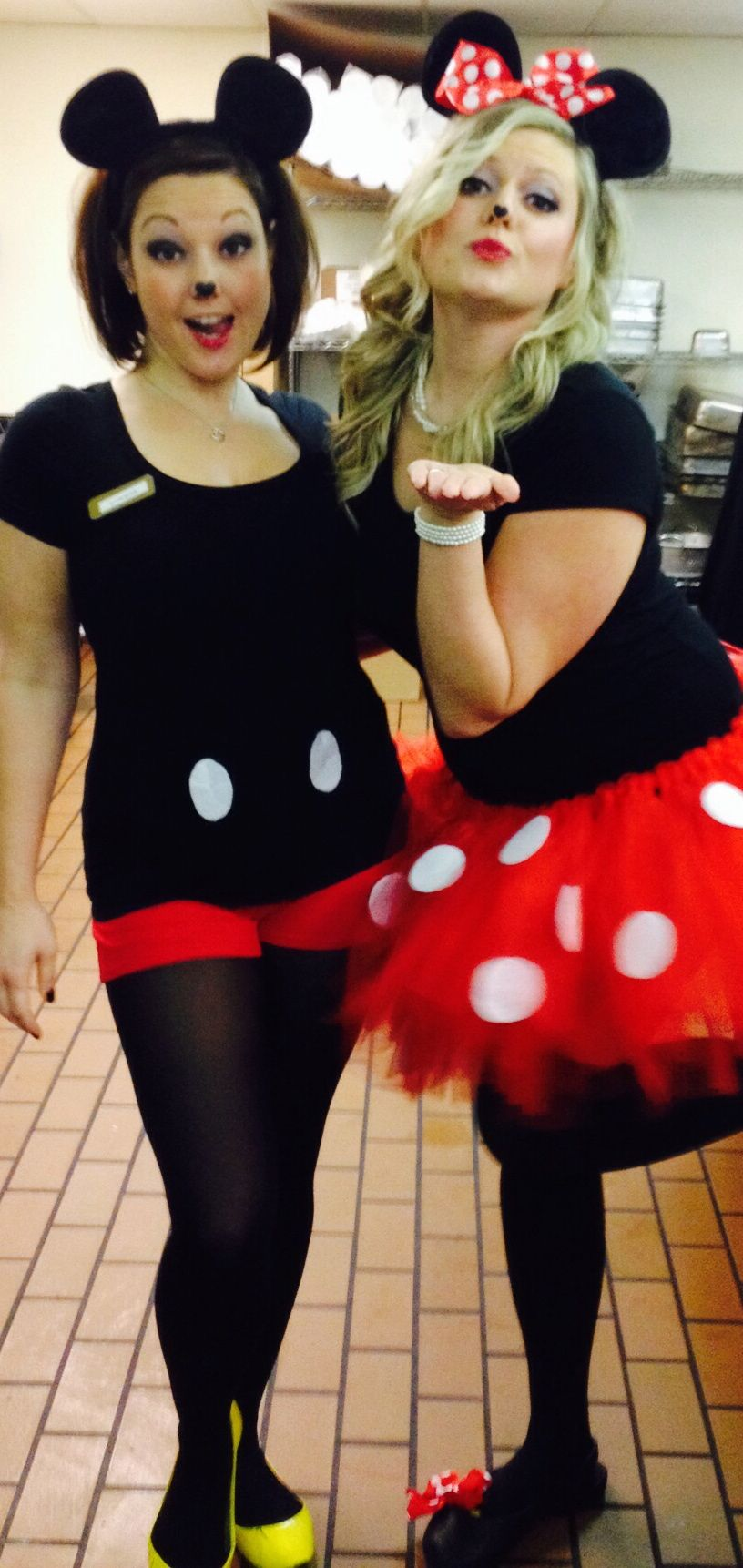 DIY Mickey and Minnie Mouse Costumes.  sc 1 st  Pinterest & DIY Mickey and Minnie Mouse Costumes. | costume u0026 cosplay ...