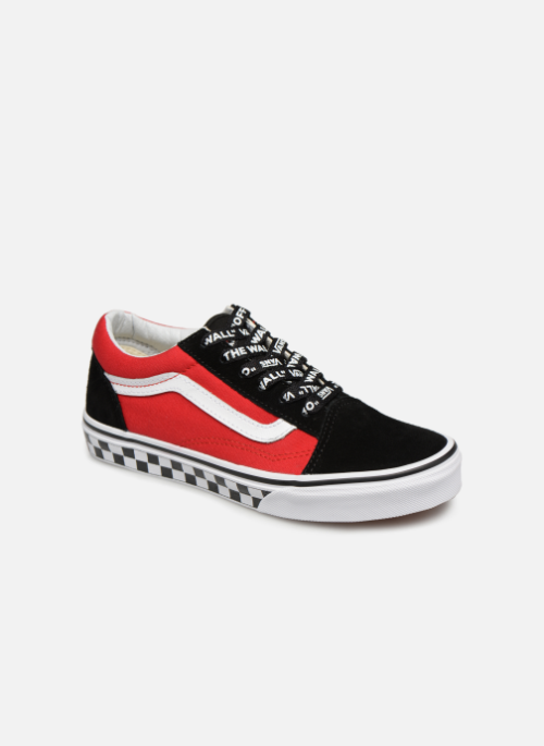 Baskets Vans Old Skool K Rouge #sneakers#baskets#vans ...