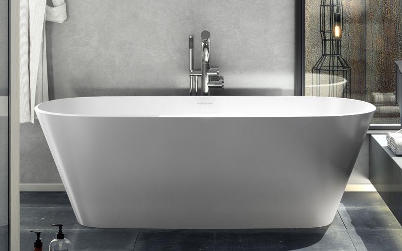 Vetralla 2 | Large modern freestanding tub | Victoria + Albert USA ...