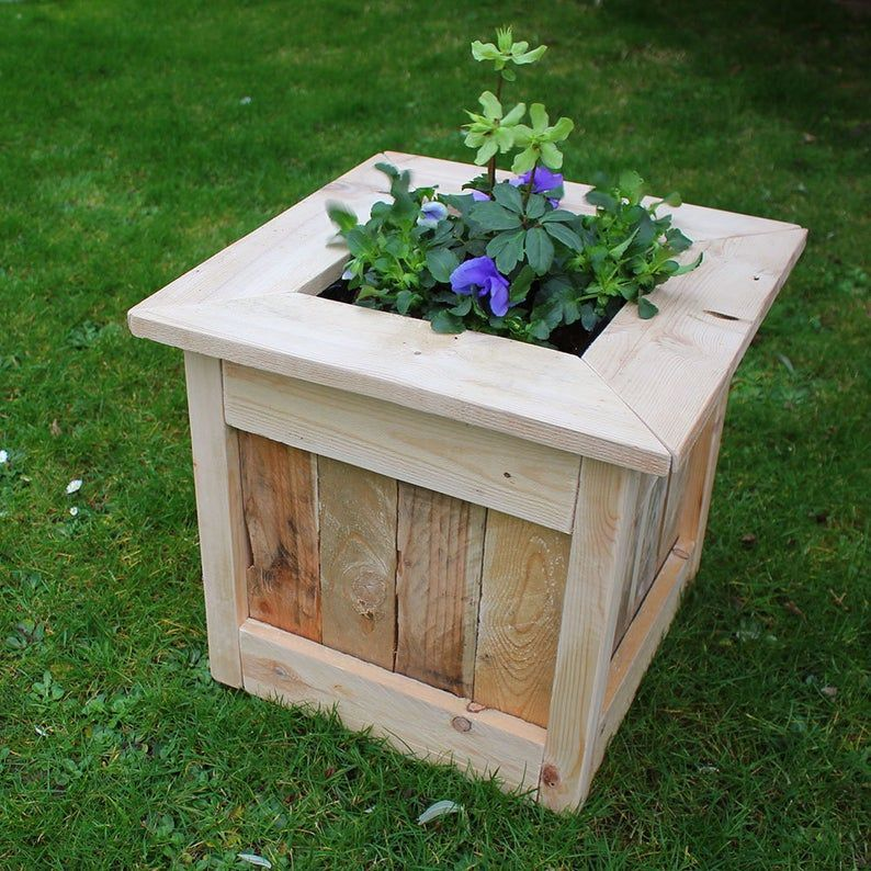 Pin On Rustic Planters