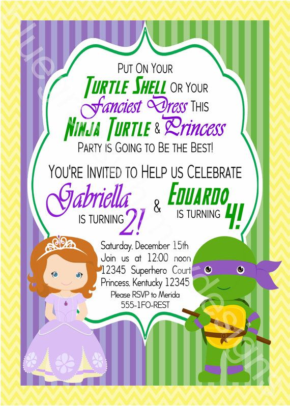 Mermaids and Sharks Party Sharks and Mermaids Invitation – What to Put on a Birthday Invitation