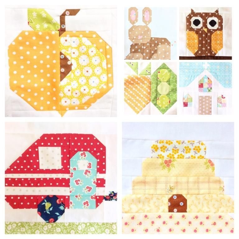 7 Name Quilting Birthday Cake Quilt Block Pattern FREE
