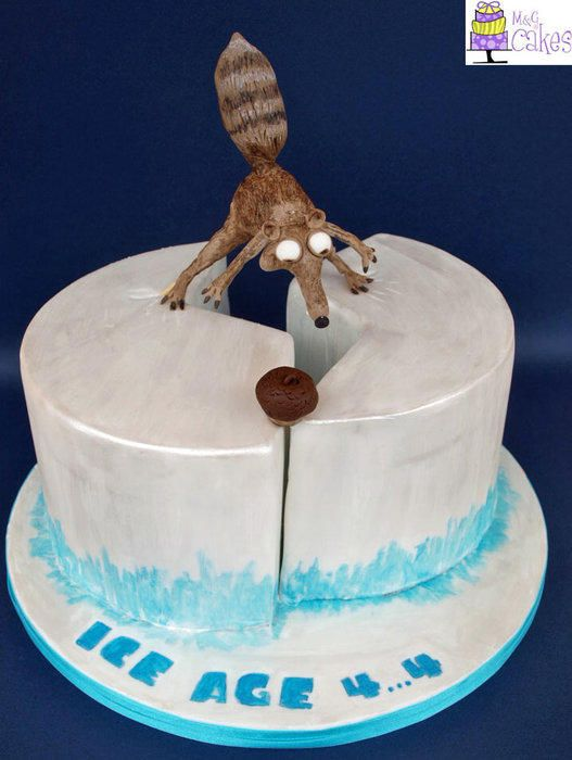 Scrat Will You Ever Get The Nut Cake By Mg Cakes Rorys Crap