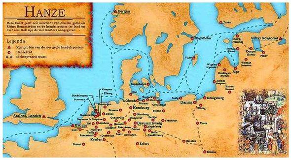 Hanze En Harderwijk World Map Art Map Holland Map
