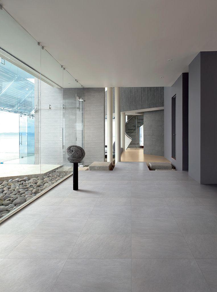 foto de Grijze kwartsiet vloertegels 60x60 (12 QU) Tegelhuys Vloeren Stenen vloeren Huisdesign