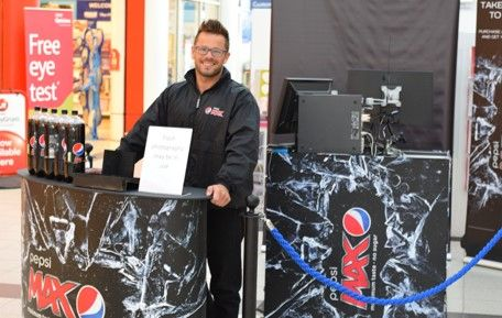 Purity provided a team including of Team Leaders and Ambassadors to operate a photo opportunity to promote Pepsi Max within Tesco stores around the UK.
