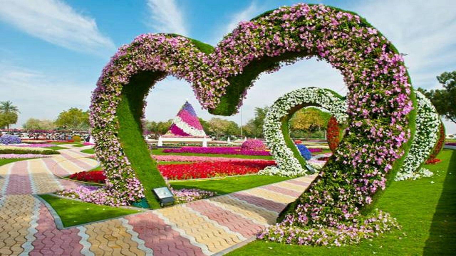 garden flowers hd wallpapers [19201080] via Classy Bro